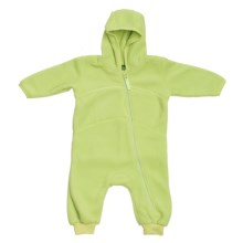 Fleece Baby Bunting (For Infants) in Green - 2nds