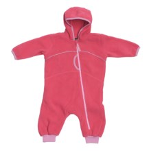 Fleece Baby Bunting (For Infants) in Pink - 2nds