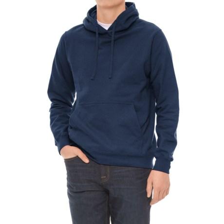 Fleece Hoodie (For Men) in Blue Grey