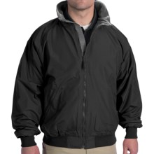 Fleece Jacket (For Men) in Black/Gray - Closeouts