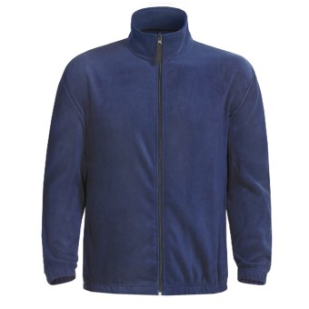 Fleece Jacket (For Men) in Navy