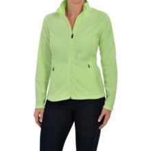 Fleece Jacket (For Women) in Lime - 2nds