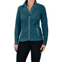 Fleece Jacket (For Women) in Teal - 2nds