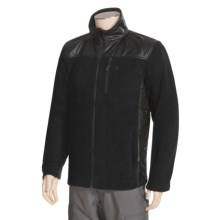 Fleece Jacket - Full Zip (For Men) in Black/Black - 2nds