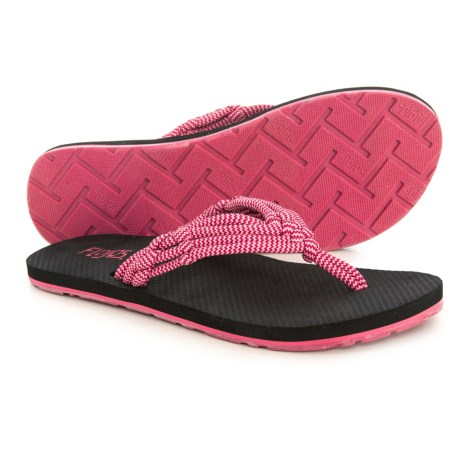 a6c5375c2d8 FLOJOS Aster Flip-Flops (For Women) in Berry Coral