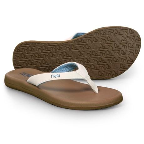 219b333d8ce FLOJOS Jersey Flip-Flops (For Women) - Save 32%