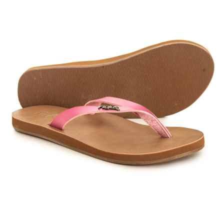 16517fdec721 FLOJOS Luna Flip-Flops (For Women) in Pink - Closeouts