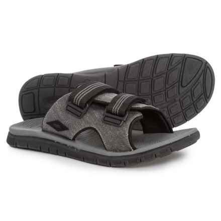 FLOJOS Shasta Sandals (For Men) in Gray/Black - Closeouts