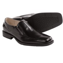 Florsheim Agenda Moc Toe Shoes - Slip-Ons (For Men) in Black - Closeouts