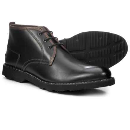 Florsheim Casey Chukka Boots - Leather (For Men) in Black - Closeouts