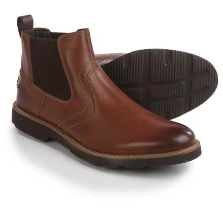 Florsheim Casey Gore Boots - Leather (For Men) in Cognac - Closeouts