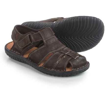 Florsheim Coastal Fisherman Sandals - Leather (For Men) in Brown - Closeouts