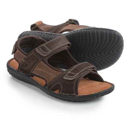 Florsheim Coastal River Sandals - Leather (For Men) in Brown - Closeouts