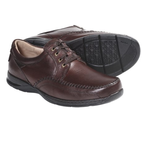 Florsheim Decatur Oxford Shoes - Leather, Moc Toe (For Men) in Brown Nubuck