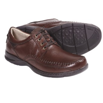 Florsheim Decatur Oxford Shoes - Leather, Moc Toe (For Men) in Cognac