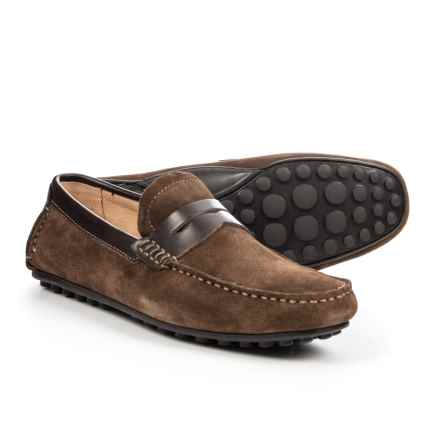 Florsheim Denison Penny Driver Shoes - Suede (For Men) in Brown - Closeouts
