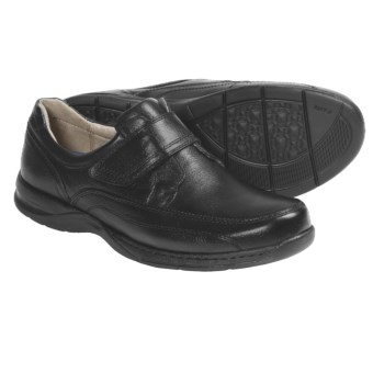 Florsheim Dorado Shoes - Leather, Slip-Ons (For Men) in Black