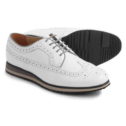 Florsheim Flux Wingtip Oxford Shoes - Leather (For Men) in White - Closeouts
