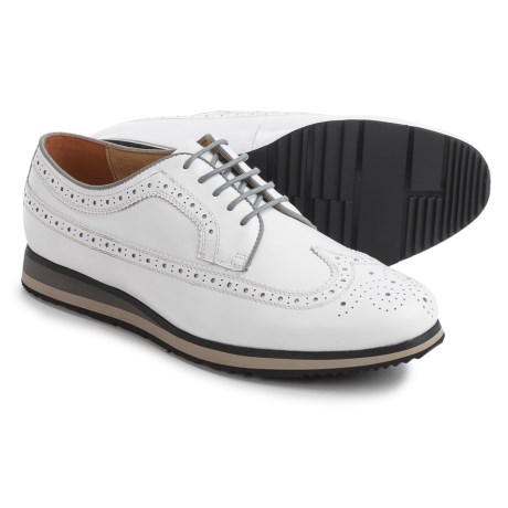 Florsheim Flux Wingtip Oxford Shoes - Leather (For Men) in White