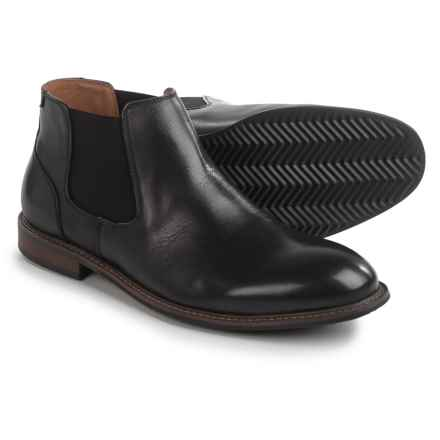 Florsheim Freemont Chelsea Boots - Leather (For Men) in Black - Closeouts