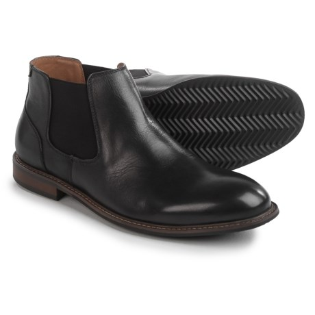 Florsheim Freemont Chelsea Boots - Leather (For Men) in Black