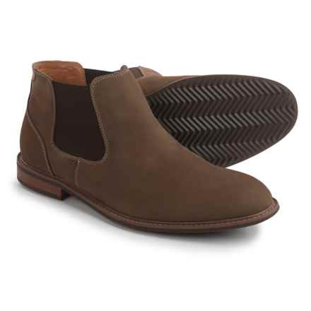 Florsheim Freemont Chelsea Boots - Leather (For Men) in Taupe - Closeouts