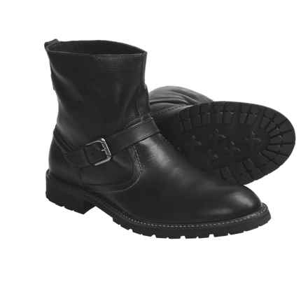 Florsheim Gadsden Buckle Boots (For Men) in Black - Closeouts