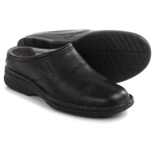 Florsheim Getaway Clogs - Leather (For Men) in Black - Closeouts