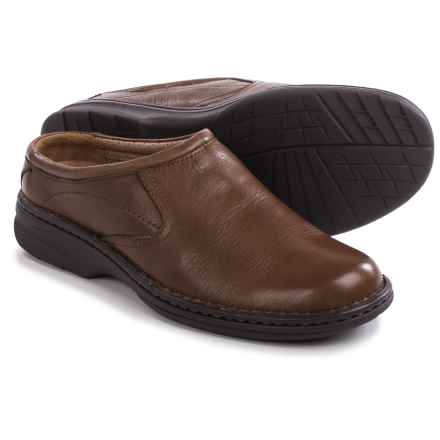 Florsheim Getaway Clogs - Leather (For Men) in Brown - Closeouts