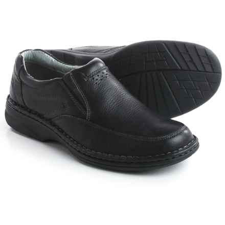 Florsheim Getaway Moc Shoes - Leather (For Men) in Black - Closeouts