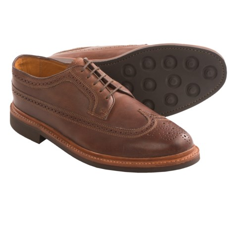 Florsheim Haviland Wingtip Shoes - Leather (For Men) in Brown Crazy Horse