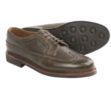 Florsheim Haviland Wingtip Shoes - Leather (For Men) in Loden - Closeouts