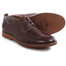 Florsheim HiFi Plain Oxford Shoes - Leather (For Men) in Brown Tumbled - Closeouts