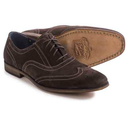 Florsheim Jet Wing Ox Shoes - Suede (For Men) in Brown Suede - Closeouts