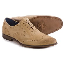Florsheim Jet Wing Ox Shoes - Suede (For Men) in Sand Suede - Closeouts
