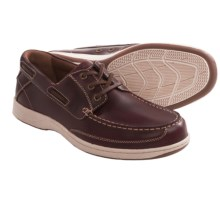 Florsheim Lakeside Limited Oxford Shoes (For Men) in Burgundy - Closeouts