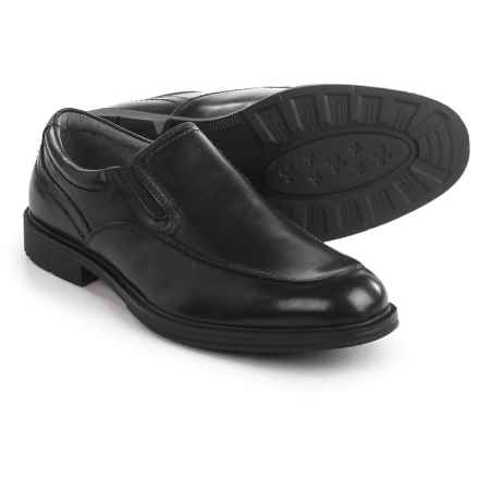 Florsheim Mogul Moc Loafers - Leather (For Men) in Black - Closeouts