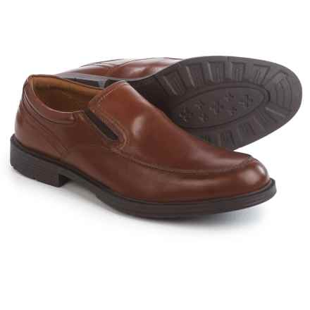 Florsheim Mogul Moc Loafers - Leather (For Men) in Cognac - Closeouts