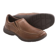 Florsheim Oslo Slip-On Shoes - Moc Toe (For Men) in Brown - Closeouts