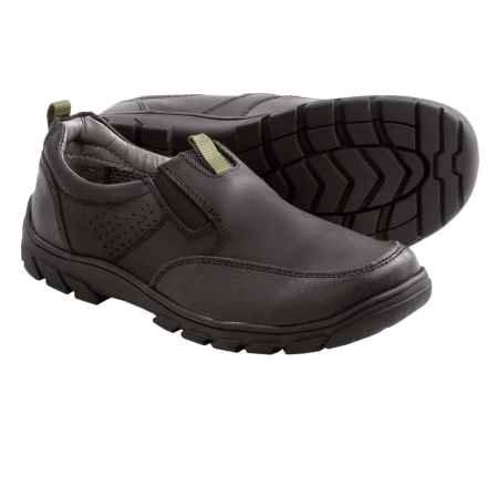 Florsheim Pine Slip Jr. Shoes - Leather (For Boys) in 001 Black - Closeouts