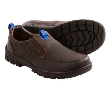 Florsheim Pine Slip Jr. Shoes - Leather (For Boys) in 215 Brown Ch - Closeouts