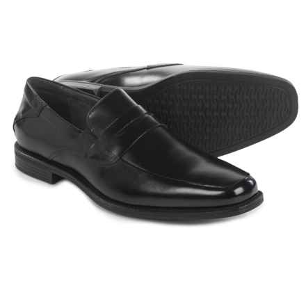 Florsheim Portico Penny Loafers - Leather (For Men) in Black - Closeouts
