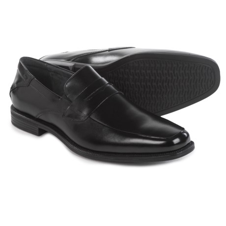 Florsheim Portico Penny Loafers - Leather (For Men) in Black