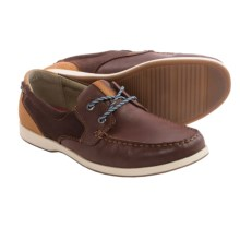 Florsheim Riptide Moc Toe Oxford Shoes (For Men) in Chestnut - Closeouts