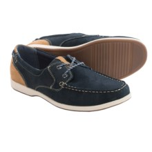Florsheim Riptide Moc Toe Oxford Shoes (For Men) in Navy - Closeouts