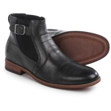 Florsheim Rockit Buckle Boots - Leather (For Men) in Black - Closeouts