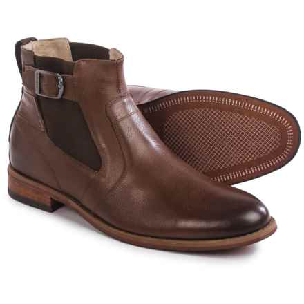 Florsheim Rockit Buckle Boots - Leather (For Men) in Brown - Closeouts