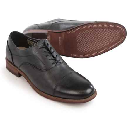Florsheim Rockit Cap-Toe Oxford Shoes - Leather (For Men) in Black - Closeouts