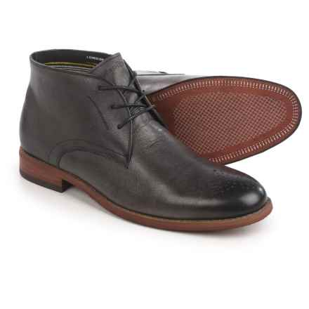 Florsheim Rockit Chukka Boots - Leather (For Men) in Black - Closeouts