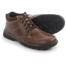Florsheim Roster Moc-Toe Chukka Boots (For Men) in Brown Crazy Horse - Closeouts